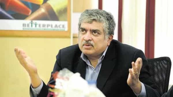 Infosys co-founder and chairman Nandan Nilekani