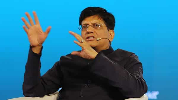 Piyush Goyal said that the government is planning to segregate the station modernisation with the monetisation of land. (Bloomberg)
