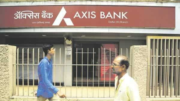 Axis Bank reported a net loss of  ₹112 crore for the second quarter.