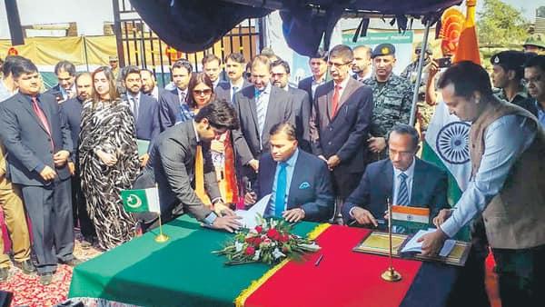 Image result for kartarpur corridor india pakistan