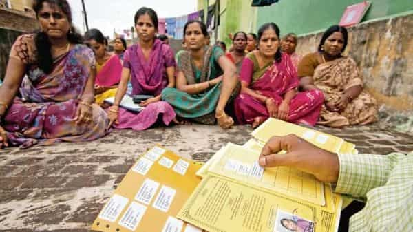 Micro-finance has been a huge success in India, with over 50 million customers who're mostly women and total advances estimated at  ₹2 trillion (Photo: Mint)