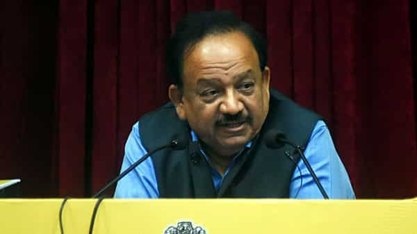 Union Minister for Science & Technology Harsh Vardhan (ANI file)