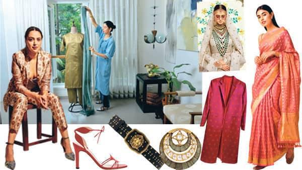 One versatile tunic-trouser set can lend itself to six glamorous looks, shows stylist Ekta Rajani. Photo: Aniruddha Chowdhury/Mint