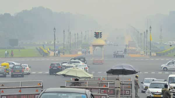 Compared to 2018, air quality post Diwali has been marginally better this year (Photo: Ramesh Pathania/Mint)