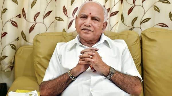 Karnataka chief minister B.S. Yediyurappa. (HT)