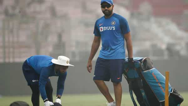 Delhi pollution no problem for Team India, Rohit gives thumbs up to Ganguly
