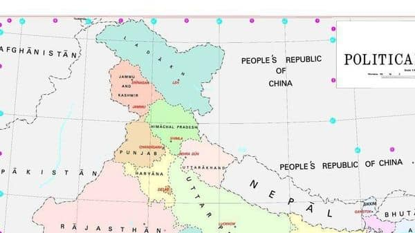 Govt releases new map of India showing UTs of Jammu and ... on china map, africa map, greece map, indian subcontinent map, california map, germany map, sri lanka map, croatia map, karnataka map, andhra pradesh map, france map, arabian sea map, poland map, malaysia map, canada map, norway map, ireland map, iceland map, cyprus map, texas map, cuba map, korea map, thailand map, czech republic map, russia map, argentina map, egypt map, italy map, europe map, maharashtra map, portugal map, new zealand map, japan map, time zone map, australia map, brazil map, spain map,