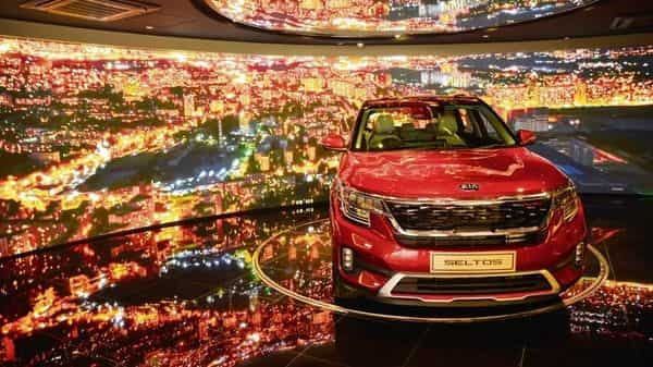 Kia sold 26,840 units of Seltos and has received more than 60,000 bookings in the two months since entering India. (Photo: Ramesh Pathania/Mint)