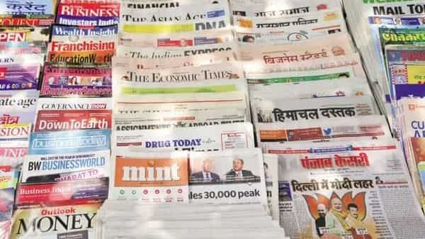 The survey is critical to advertisers as it helps them decide which print publications to advertise in. Photo: Ramesh Pathania/Mint