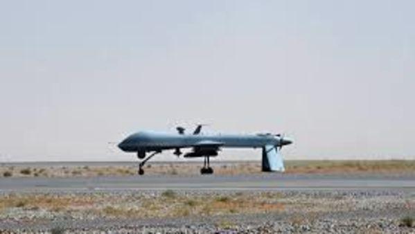 Sea Guardian armed drones (Reuters )