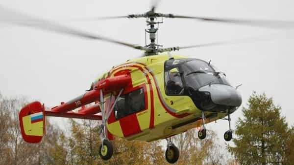 A file photo of KA 226T helicopters
