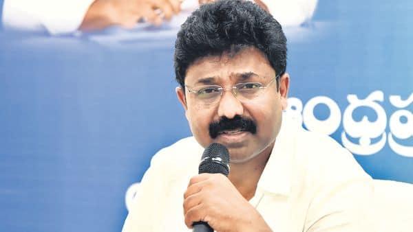 Suresh Audimulapu, Andhra Pradesh education minister.