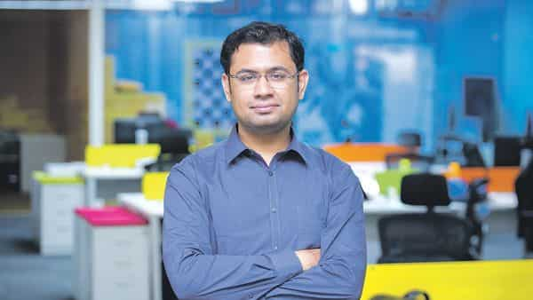 Harshil Mathur, CEO of Razorpay. The digital payments startup introduced a corporate credit card targeted at startups and SMEs.