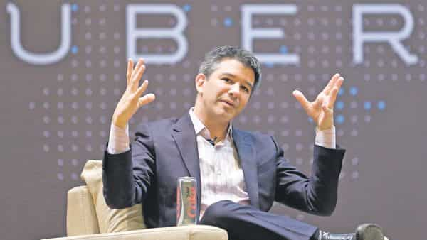 Travis Kalanick, co-founder and former chief executive officer of Uber Technologies Inc. (Reuters)