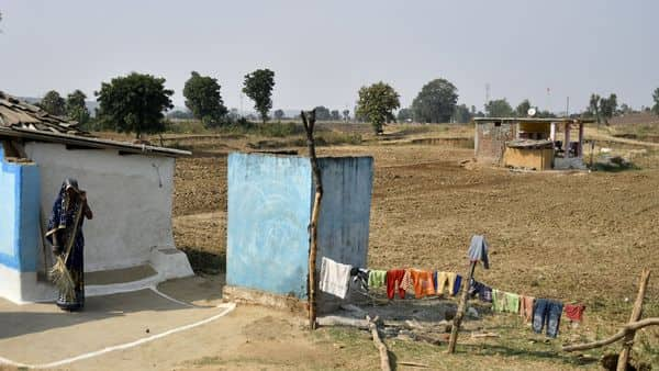 About 4.5% of the households in the rural areas and about 2.1% of the households in the urban areas reported that water was not available in or around the latrine used (Photo: Bloomberg)
