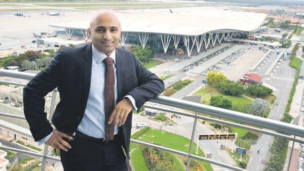 Data keeps feeding the management surprising insights into passenger traffic, says Satyaki Raghunath of Bangalore International Airport Ltd.  (Photo: Raj Sam/Mint)