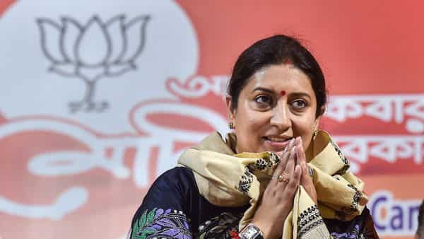 Smriti Irani, Union Minister of Women & Child Development (PTI )