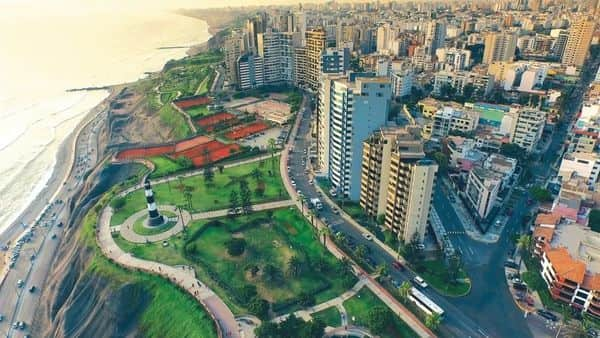 A file photo of Lima, Peru