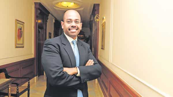 Aditya Ghosh, CEO, India and South Asia, Oyo Hotels and Homes. (Ramesh Pathania/Mint)