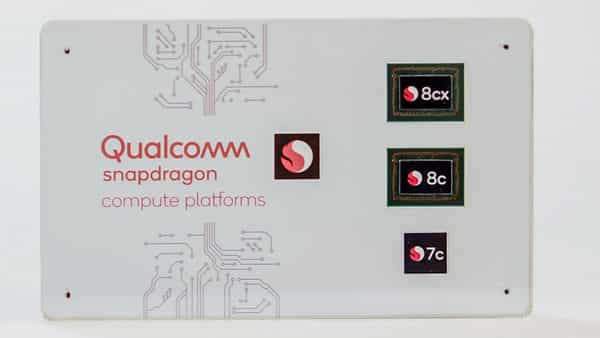 Qualcomm announces Snapdragon 8c, 7c for Windows laptops with mobile processors