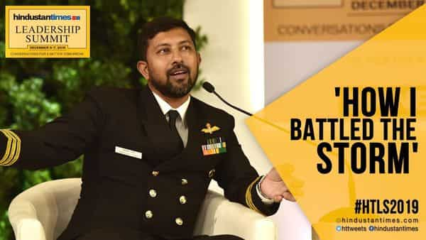 People die because they lose will to survive, says Navy's Abhilash Tomy