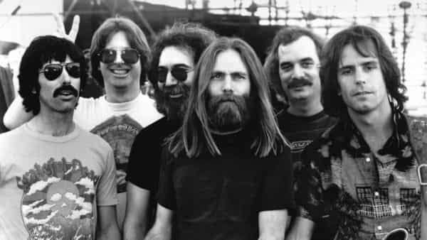 The Grateful Dead, circa 1980. GETTY IMAGES