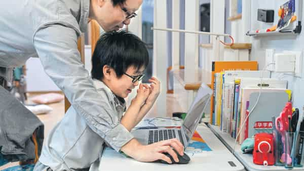 Vita has set up a coding tutorial channel on the Chinese video streaming site Bilibili since August and has so far garnered nearly 60,000 followers and more than one million views (Photo: Bloomberg)