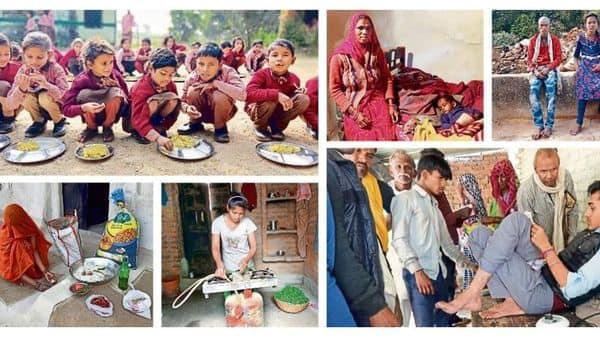 Hunger games in jobless Bharat. Photos: Sayantan Bera/Mint