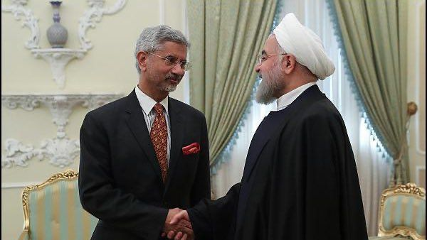 Iran's President Hassan Rouhani said Monday in a joint news conference with Jaishankar that the project would boost trade in the region.