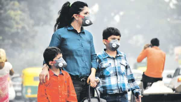 Ambient AQI levels in the National Capital Region hit a record high this year. (Photo: Yogesh Kumar/Hindustan Times)