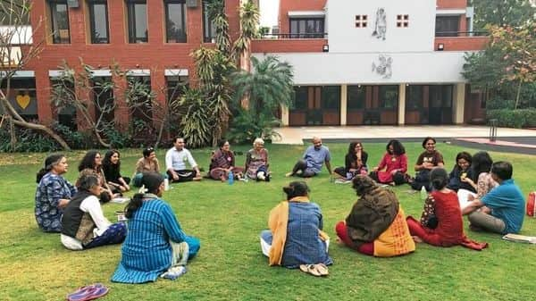A workshop on restorative practices organized by the Mumbai-based Ashiyana Foundation