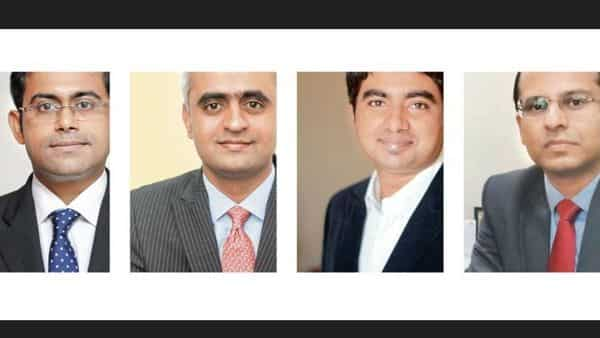 Ashish Shanker of Motilal Oswal, Santosh Joseph of Germinate Wealth, Varun Girilal, of Mitraz Investment Advisors and Saurav Basu, of Tata Capital