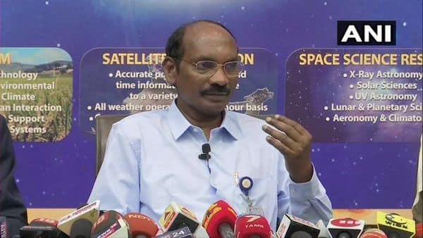 ISRO chief K Sivan. (ANI)