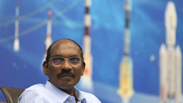 ISRO chairman K Sivan during a press conference in Bangalore. (AP)
