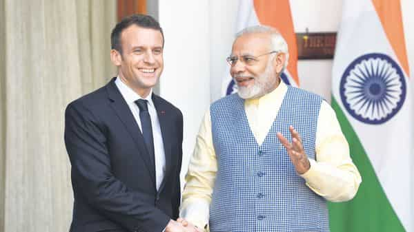 The agreement was signed between India and France during French President Emmanuel Macron's visit to India in 2018. (Photo: HT)