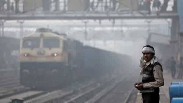 On Tuesday, 15 Delhi-bound trains were delayed due to severe fog in several parts of northern India. (Reuters)