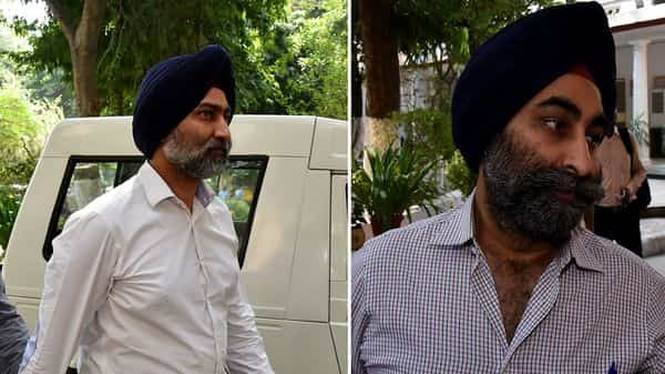 (From left) Malvinder Mohan Singh and his brother Shivinder Mohan Singh
