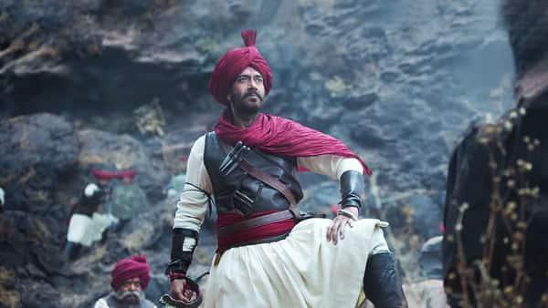 Ajay Devgn in a still from 'Tanhaji: The Unsung Warrior'.