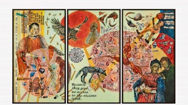'The Witness' by Nalini Malani