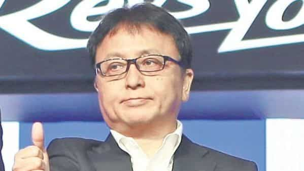 Motofumi Shitara, chairman and MD, Yamaha Motor India.