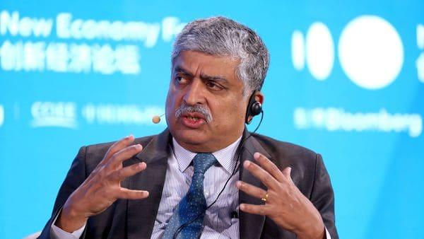 Nandan Nilekani, co-founder and chairman of Infosys Ltd. (Bloomberg)
