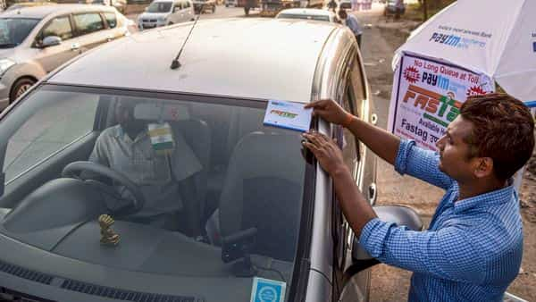 Paytm Payments Bank has set up over 300 camps at toll plazas across India. (Photo: PTI)