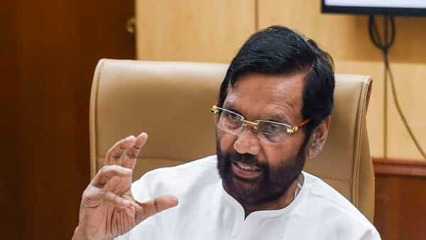 Minister for Consumer Affairs, Food and Public Distribution Ram Vilas Paswan. (PTI)