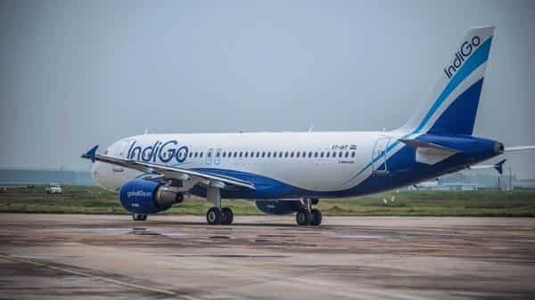 Promoter of India's largest domestic airline-IndiGo-has earned a reprieve, with the aviation regulator extending a deadline to replace Pratt & Whitney engines on its Airbus A320neo aircraft by four months to 31 May. (Pradeep Gaur/Mint)