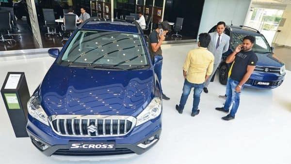 Maruti's dominance in the SUV segment has declined.  (Ramesh Pathania/Mint)
