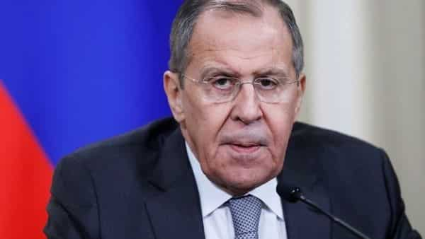 Russia's foreign minister Sergei Lavrov. (Reuters)