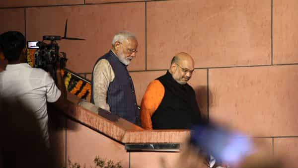 The BJP raised  ₹2,410 crore during 2018-19, of which  ₹1,450 crore came as donations through electoral bonds (Photo: Bloomberg)