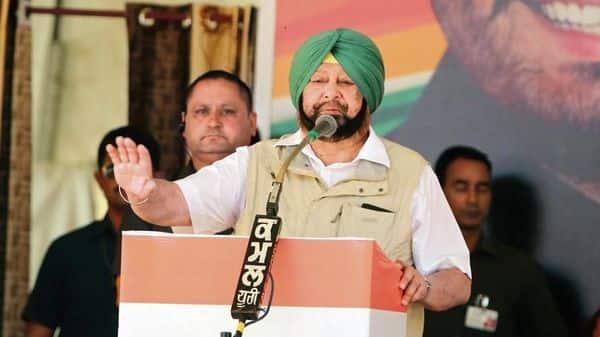 Punjab chief minister Captain Amarinder Singh. (Hindustan Times)