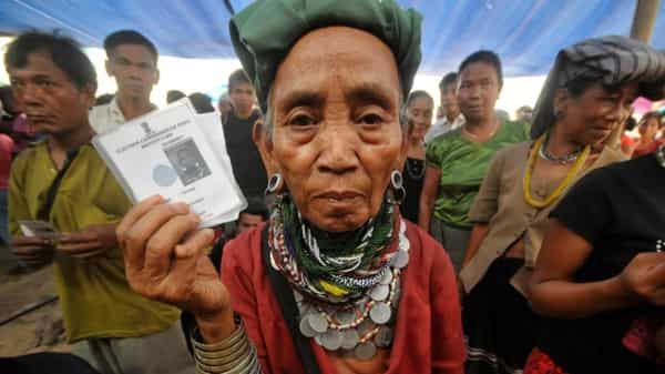 While Mizoram has as many as 40,000 Brus living in the state, in Tripura, their numbers stand at approximately 32,000, spread across six refugee camps in the state.. Photo: Reuters/File