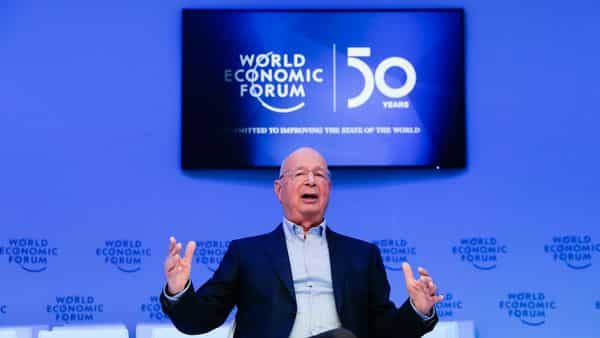 Klaus Schwab, founder and Executive Chairman of the World Economic Forum. (AP)